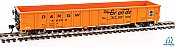 Walthers Mainline 6157 HO 53 Ft Thrall Smooth-Side Gondola - Denver & Rio Grande Western #56334