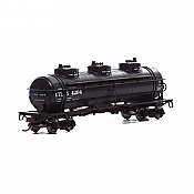 Athearn Roundhouse 1723 HO Scale - 3-Dome Tank - UTLX #4329