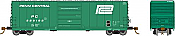 Rapido 139001-F HO Scale - Evans X72A Box car: Penn Central Large Logo - Single Car #229447