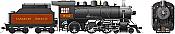 Rapido 602510 HO D10j Canadian Pacific #962 DC/DCC/Sound Pre-Order coming 2020
