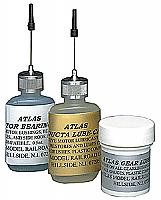Atlas 193 - Loco/Track Maintenance Kit - Heavy Duty Motor Bearing/Gear Lubricant - Conducta-Lube Cleaner