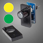 Walthers 151 HO, N, Z, S, O - Walthers Layout Control System - Two Color LED Fascia Indicator (Yellow, Green)
