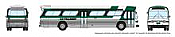 Rapido 573002 N - 1/160 New Look Bus - GO Transit