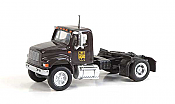Walthers HO 11192 SceneMaster International(R) 4900 Single-Axle Semi Tractor Only - Assembled - UPS Bow Tie Scheme