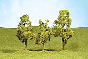 Bachmann SceneScapes 32109 - N Layout-Ready Trees - Sycamore Trees (4/pkg)