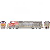 Athearn Genesis G70651 - HO SD75M Diesel, w/DCC & Sound, PRLX ex BNSF #201