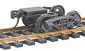 Kadee Quality Products, #502 HO Bettendorf 50-Ton Fully Sprung Metal Trucks w/Whisker(R) Couplers - Kit