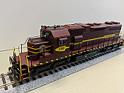 Athearn 88624 SD38AC w/DCC & Sound, Duluth, Missabe and Iron Range Railway DM&IR #206