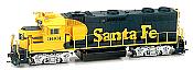 Athearn HO G40892 Diesel EMD GP39-2 Phase 1 Santa Fe #3601 DCC & Sound