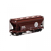 Athearn RTR 93983 - HO ACF 2970 Covered Hopper - BNSF (3pk)