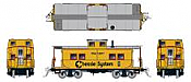 Rapido 144030 - HO Northeastern-style Steel Caboose: Chessie System #1901