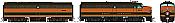 Rapido 37020 - HO Alco FA-1 & FB-1 Set - DCC Ready - Great Northern #442A, 442B