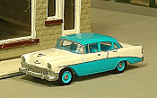 Sylvan Scale Models 294 HO Scale - 1956 Chevy 210 Four Door Sedan - Unpainted and Resin Cast Kit