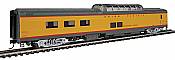 Walthers Proto 18654 - HO 85ft ACF Dome Diner Coach w/lights - Union Pacific (Colorado Eagle) #8004