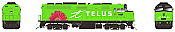 Rapido 80560 HO F40PH 2D VIA Rail Telus 6429 ESU LokSound DCC & Sound- Taking Orders Now