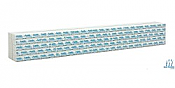 Walthers SceneMaster 3150 HO Scale - Wrapped Lumber Load for 72 FT Centerbeam Flatcar - Apollo Forest Products