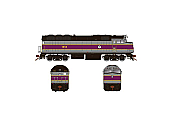 Rapido 083623 HO Scale EMD F40PH Ph3, ESU LokSound DCC, MBTA No.1013