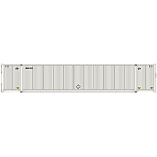 Atlas 20005954 HO 53ft CIMC Container Set, UPSU Set #2