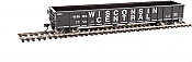 Walthers Mainline 6171 HO 53 Ft Thrall Smooth-Side Gondola - Ready to Run - Wisconsin Central 55180