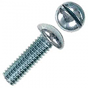 Kadee 402 Roundhead Stainless Steel Screws 0-48 x 1/4 inch - 12pcs