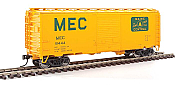 Walthers Mainline 2257 - HO 40ft ACF Welded Boxcar w/8ft Youngstown Door - Maine Central #8444