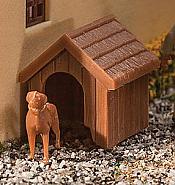 Walthers 4147 HO SceneMaster - Dog & Kennel (Dog house) - Kit