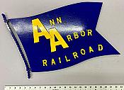Stoddarts Ltd. AAR - 3D Railroad Wall Artwork - Ann Arbor Flag Logo