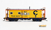 Tangent Scale Models HO 60012-04 - ICC I-18 Steel Bay Window Caboose - B&O Chessie System 1973plus Repaint #C-3040