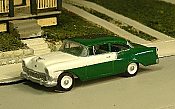 Sylvan Scale Models 291 HO Scale - 1956 Chevy 150 Two Door Sedan - Unpainted and Resin Cast Kit