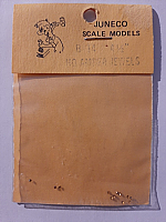 Juneco Scale Models B-14 - HO 4 1/2in Amber Jewels (12/pkg)