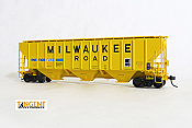 Tangent Scale Models 21012-01 HO Scale - Pullman Standard PS-2 4427 High Side Covered Hopper - INTX ex-MILW #1 2007+ #45131