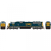 Athearn Genesis G64922 HO Scale - SD70MAC Diesel, w/ DCC & Sound - CSX #4579