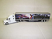 Trucks n Stuff 23107 HO - Cascadia Sleeper-Cab Tractor - 53ft Dry Van Trailer - Exchange