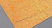 Plastruct 91883 Red Brick Patterned Plastic Sheet (2pcs pkg)