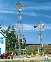 Walthers Cornerstone 3198 HO N Van Dyke Farm Windmill Kit pk2