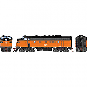 Athearn Genesis 19550 - HO F7A EMD - DCC & Sound - Bessemer & Lake Erie/Freight #728A