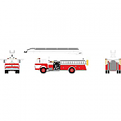 Athearn 91867 - HO RTR Ford C Telesqurt - Red & White