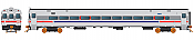 Rapido 128516 - HO Scale Comet Commuter Car - SEPTA Set 1