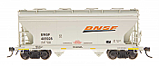 Intermountain 66534-12 - N ACF Centerflow 2-Bay Hoppers - BNSF #405966