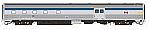 Rapido 114020 HO Scale - Budd Baggage-Dorm Canada Scheme - VIA Rail Unnumbered