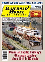 Railroad Model Craftsman Magazine December 2013