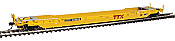 WalthersProto 109020 HO Gunderson Rebuilt All-Purpose 53 Ft Well Car -  Trailer-Train DTTX #475475