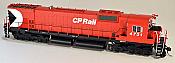 Bowser 24279 HO Executive Line Alco MLW M636 ESU LokSound & DCC Canadian Pacific CP Rail 4734 - CP Rail 5 Inch Stripe