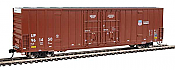 Walthers Mainline 2978 - HO 60ft Hi-Cube Plate F Boxcar - Union Pacific #961450