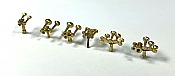 Rapido Trains Bits: HO Assorted Brass Horns 606-102107
