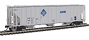 Walthers Proto 106148 - HO 55Ft Evans 4780 Covered Hopper - ADM (UELX) #10025