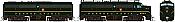 Rapido 37036 - HO Alco FA-1 & FB-1 Set - DCC Ready - Pennsylvania #9607A, 9607B