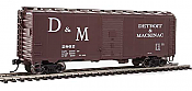 WalthersMainline HO 2713 40 Ft AAR Modified 1937 Boxcar - Ready to Run - Detroit & Mackinac #2862