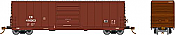 Rapido 139008-F HO Scale - Evans X72A Box car: Canadian National - Single Car #416515