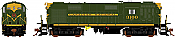 Rapido 32507 HO MLW RS-18g Canadian National (Green) DCC & Sound -3887 Taking Orders Now